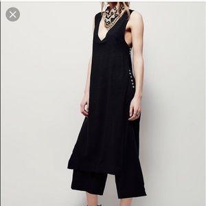 Free people Linen Set black XS